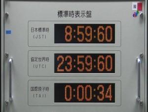 うるう秒とは電波時計に反映される?
