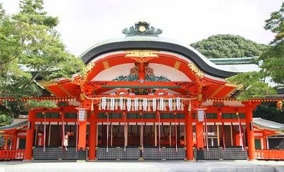 伏見稲荷神社ご本殿